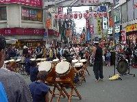 駅前イベント「和太鼓」